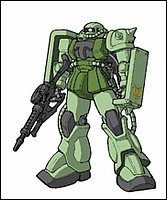 Il MS-06F Zaku II non ha bisogno di presentazioni!