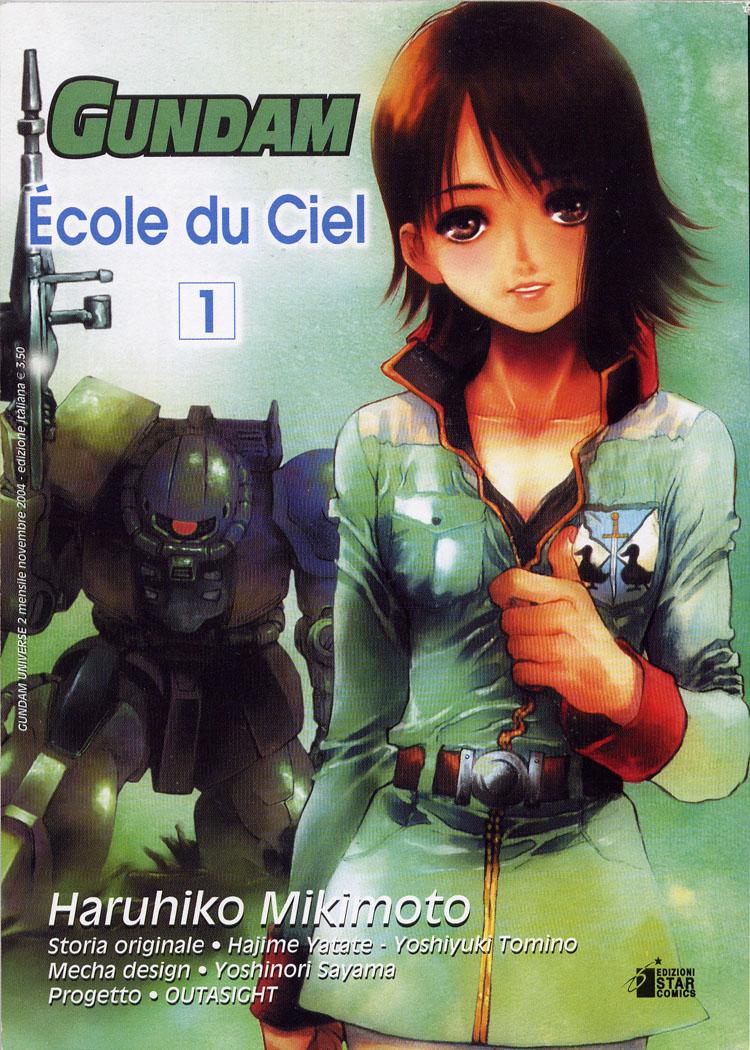 Manga - GundamUniverse - Gundam Ecole du Ciel